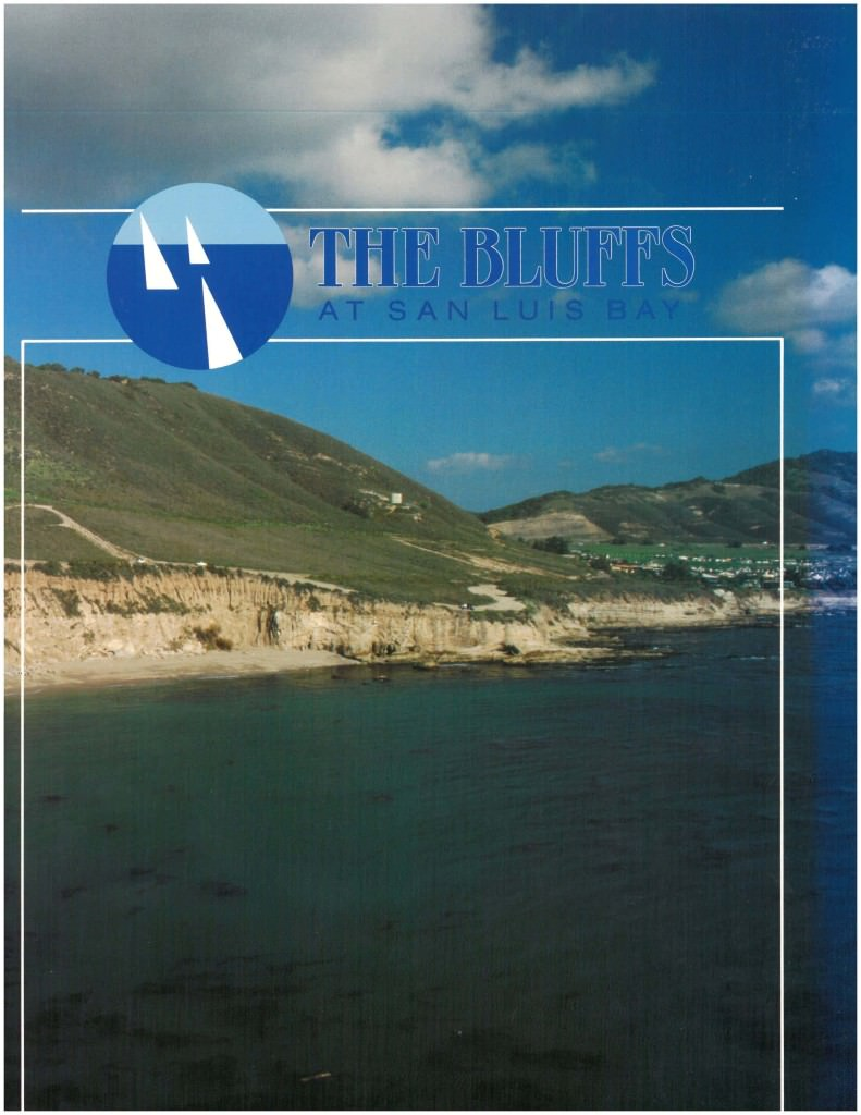 The Bluffs at San Luis Bay Original Brochure