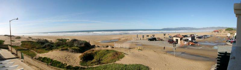 Oceano Beach view  off second story