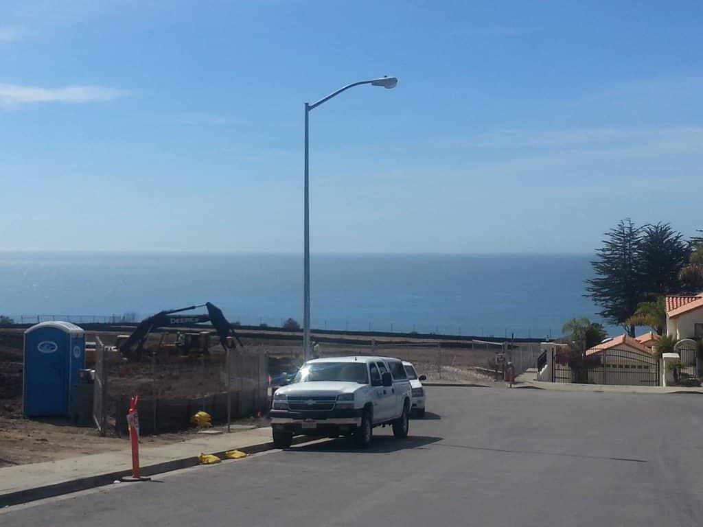 Grading Shell Beach Estates