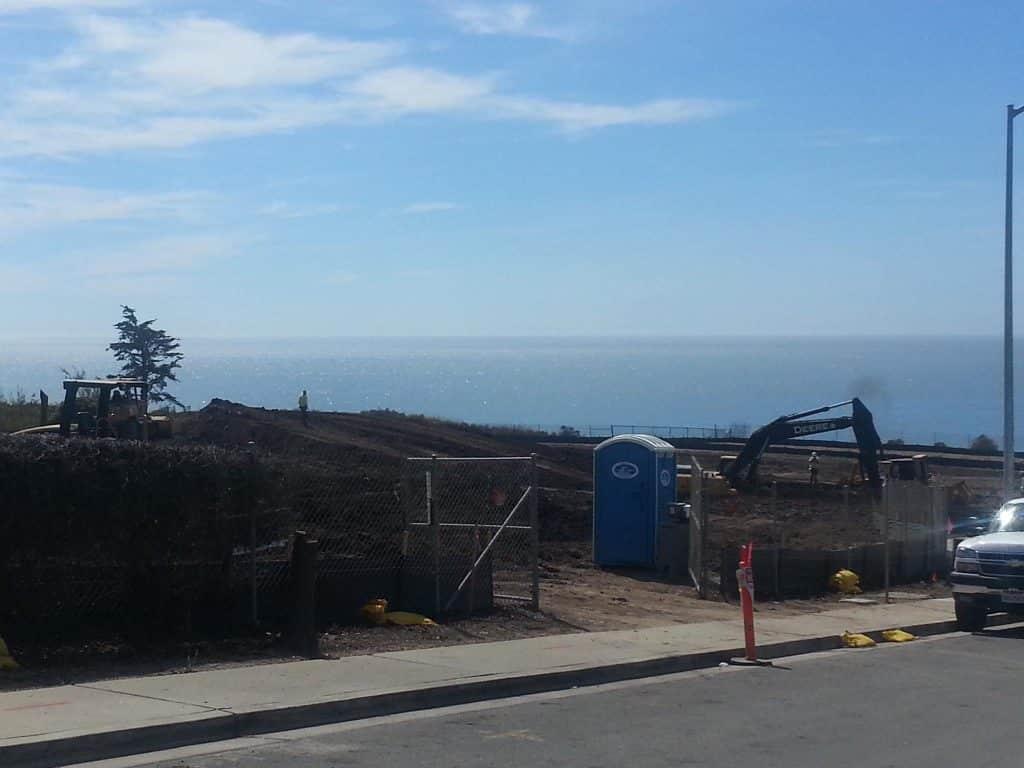 Sunset Beach Estates Shell Beach California work has started