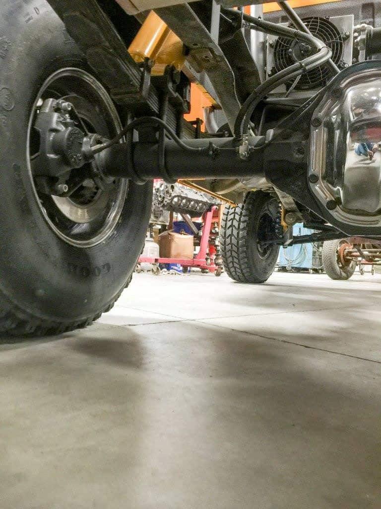 Under Rear View